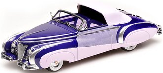1:43 1948 Cadillac Series 62 Cabriolet (Purple/Lavender)