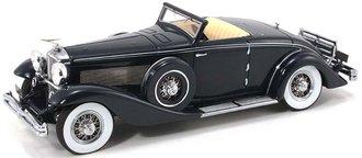1936 Duesenberg SJN (Supercharged) Convertible Coupe (Dark Blue)