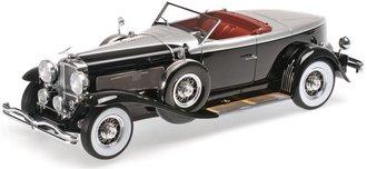 1:43 1929 Duesenberg Model J Torpedo Boat Tail Convertible Coupe (Black)