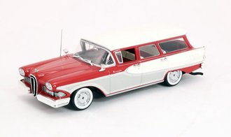 1958 Ford Edsel Bermuda Station Wagon (Red/Cream)