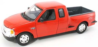 1:24 2001 Ford F-150 XLT Flareside Supercab Pickup (Red)