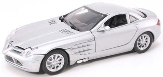 1:24 Mercedes-Benz SLR McLaren (Crystal Laurite Silver)