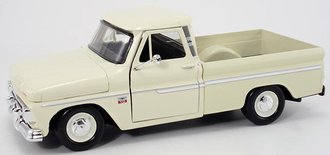 1:24 1966 Chevy C-10 Fleetside Pickup (Cashmere White)
