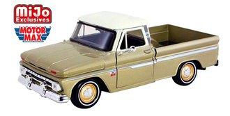 1:24 1966 Chevy C10 Fleetside Pickup (Gold/White)