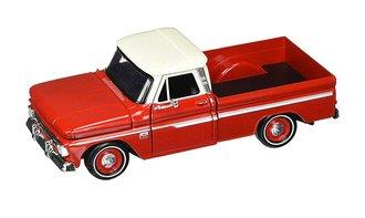 1966 Chevy C-10 Fleetside Pickup (Red/White)