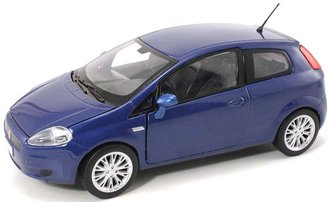 1:24 Fiat Grande Punto (Blue)