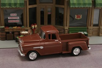 1:43 1955 Chevy Stepside Pickup (Brown)