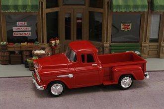 1:43 1955 Chevy Stepside Pickup (Red)
