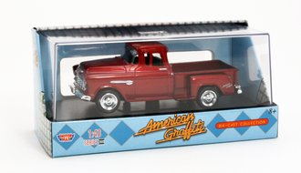 American Graffiti 1955 Chevy Stepside Pickup (Red)