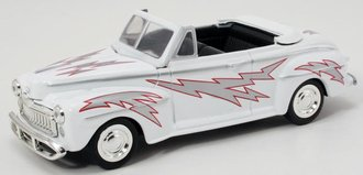 1:43 Grease 1948 Ford DeLuxe Convertible (White)