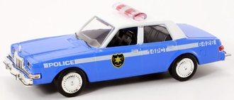 1:43 The Usual Suspects 1983 Dodge Diplomat Police Car