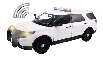 1:18 Lights & Sound - 2015 Ford PI Police Utility (White - Undecorated)