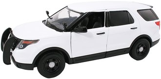 1:24 2015 Ford PI Utility Police Slicktop (White - Undecorated)