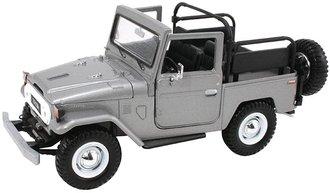 1:24 Toyota FJ40 Land Cruiser (Open) (Silver)