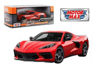 1:24 2020 Chevy Corvette C8 Stingray (Red)