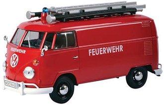 1:24 Platinum Collection - Volkswagen Type 2 (T1) Fire Van (Red)