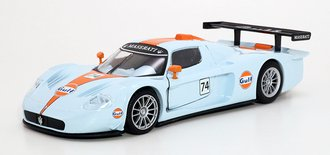 1:24 Gulf Oil - Maserati MC 12 Corsa (Light Blue)