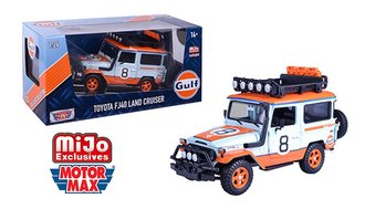 1:24 Gulf Oil - Toyota FJ 40 Land Cruiser TRD Livery (Limited)