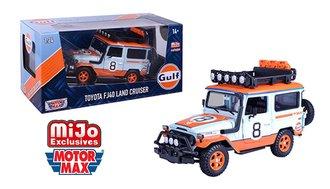 1:24 Gulf Oil - Toyota FJ 40 Land Cruiser TRD Livery (Limited)