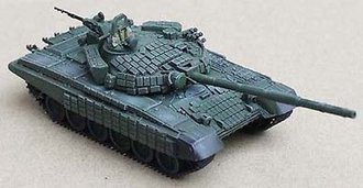 "1:72 T-72B Main Battle Tank w/ERA & Command Shield ""Russian Army, Georgia War, 2008"""