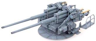 128mm Flakzwilling 40 Twin Anti-Aircraft Gun - Germany, World War II (Plastic)