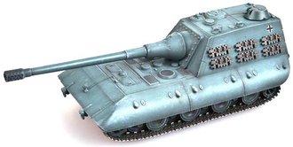 "E-100 Jagdpanzer with 170mm Gun - German Army, ""1946,"" Grey"