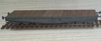 Schwere Plattformwagen Type SSyms 80 - Deutsche Reichsbahn, World War II (Plastic, no case)