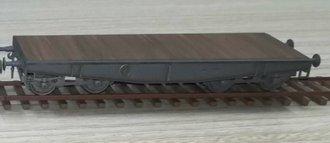 Schwere Plattformwagen Type SSys - Deutsche Reichsbahn, 1943 (Plastic, No Case)