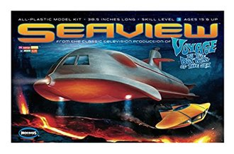1:128 Voyage to the Bottom of the Sea Seaview (Model Kit)