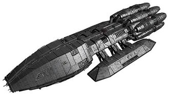 1:4105 Battlestar Galactica Pegasus (Model Kit)