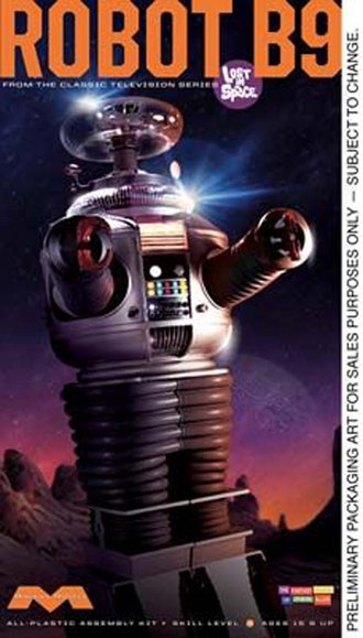 1:6 Lost In Space Robot B9 (Model Kit)