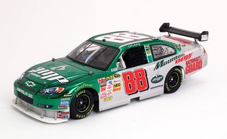 "2008 Chevy Impala SS ""Dale Earnhardt Jr. #88 Amp Energy - Mountain Dew"" (Green/Silver Chrome)"