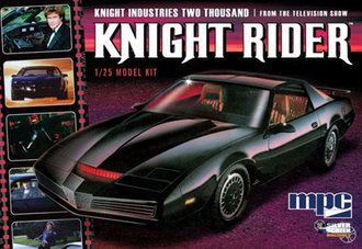 1:25 Knight Rider 1982 Pontiac Firebird - Silver Screen Machines (Model Kit)