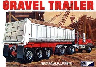1:25 3-Axle Gravel Trailer (Model Kit)