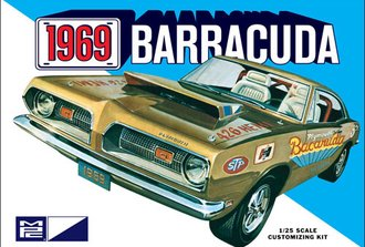 1:25 1969 Plymouth Barracuda (Model Kit)