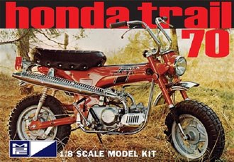 1:8 Honda Trail 70 Mini Bike (Model Kit)