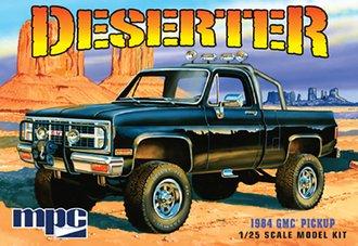 1984 GMC Pickup (Black) (Model Kit)
