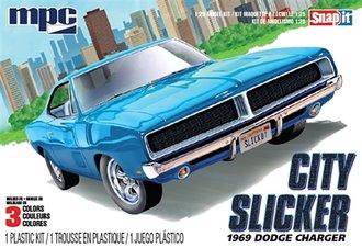 "1969 Dodge Charger R/T ""City Slicker"" (Snap Model Kit)"