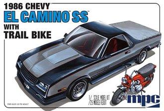 1986 Chevy El Camino SS w/Dirt Bike (Model Kit)
