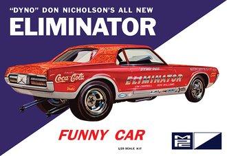 1:25 Dyno Don Cougar Eliminator Funny Car (Model Kit)