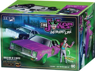 "1978 Dodge Monaco ""Batman Joker Goon Car"" (Model Kit)"