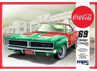 "1969 Dodge Charger R/T ""Coca-Cola"" (Snap 2T) (Model Kit)"