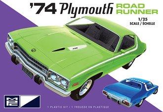 1974 Plymouth Road Runner (2T) (Model Kit)
