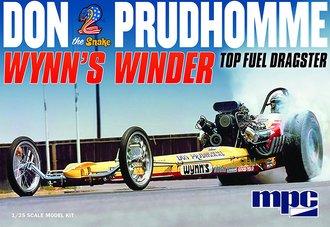 """Don """"Snake"""" Prudhomme Wynns Winder Dragster (Model Kit)"""