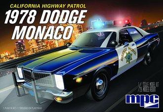 1978 Dodge Monaco CHP Police Car 2T (Model Kit)