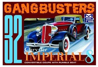 """1932 Chrysler Imperial """"Gangbusters"""" (Model Kit)"""