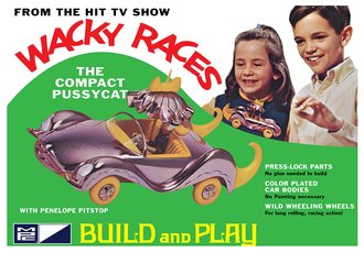 Wacky Races - Compact Pussycat (SNAP - Model Kit)