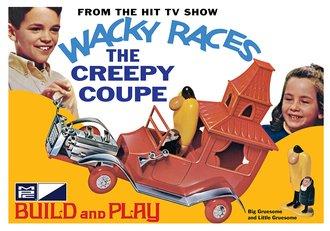 Wacky Races - Creepy Coupe (SNAP) (Model Kit)