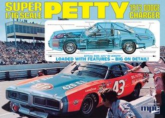 1:16 1973 Richard Petty Dodge Charger (Model Kit)