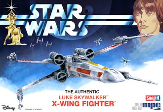 Star Wars: A New Hope X-Wing Fighter (Snap)